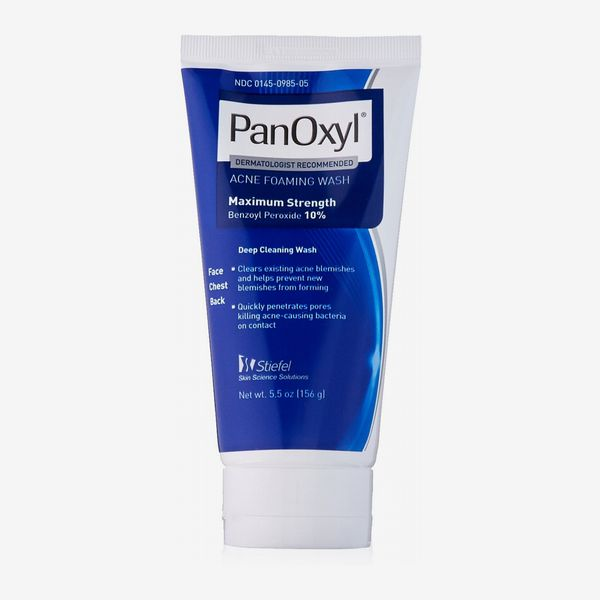 PanOxyl Acne Foaming Wash With 10 Percent Benzoyl Peroxide