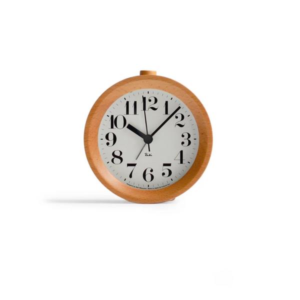 Riki Watanabe for Lemnos Riki Alarm Clock - Wood