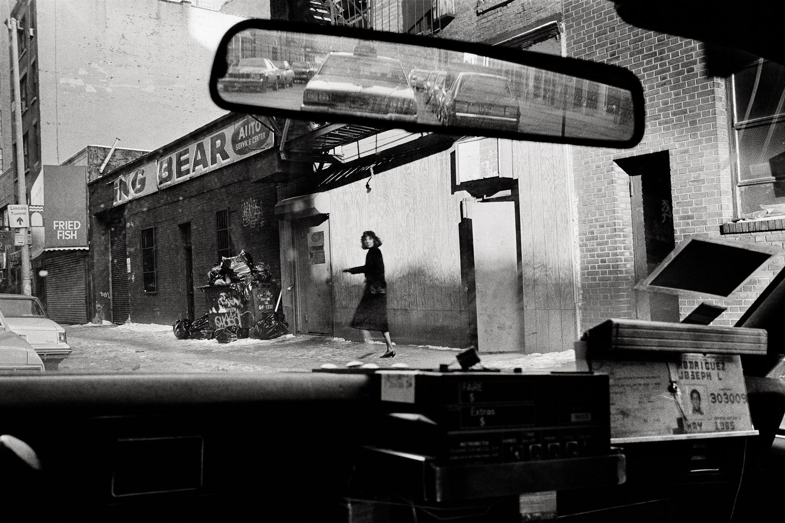 Old New York, Seen Through a Cab Driver's Windshield