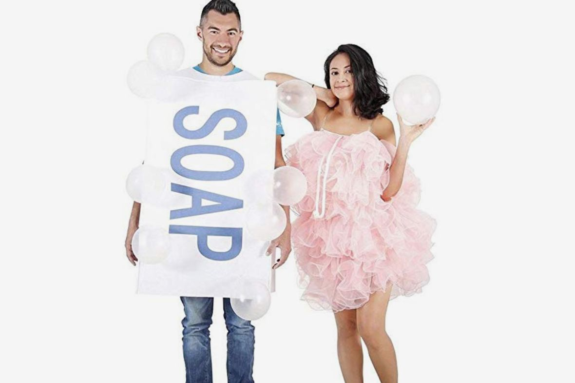 Soap and Loofah Bubbles Costume Set