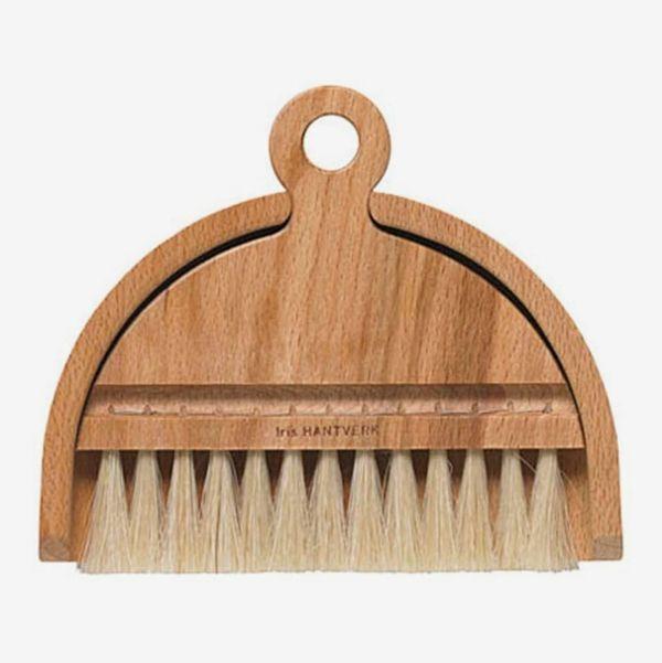 Iris Hantverk Desktop Dustpan-and-Brush Set