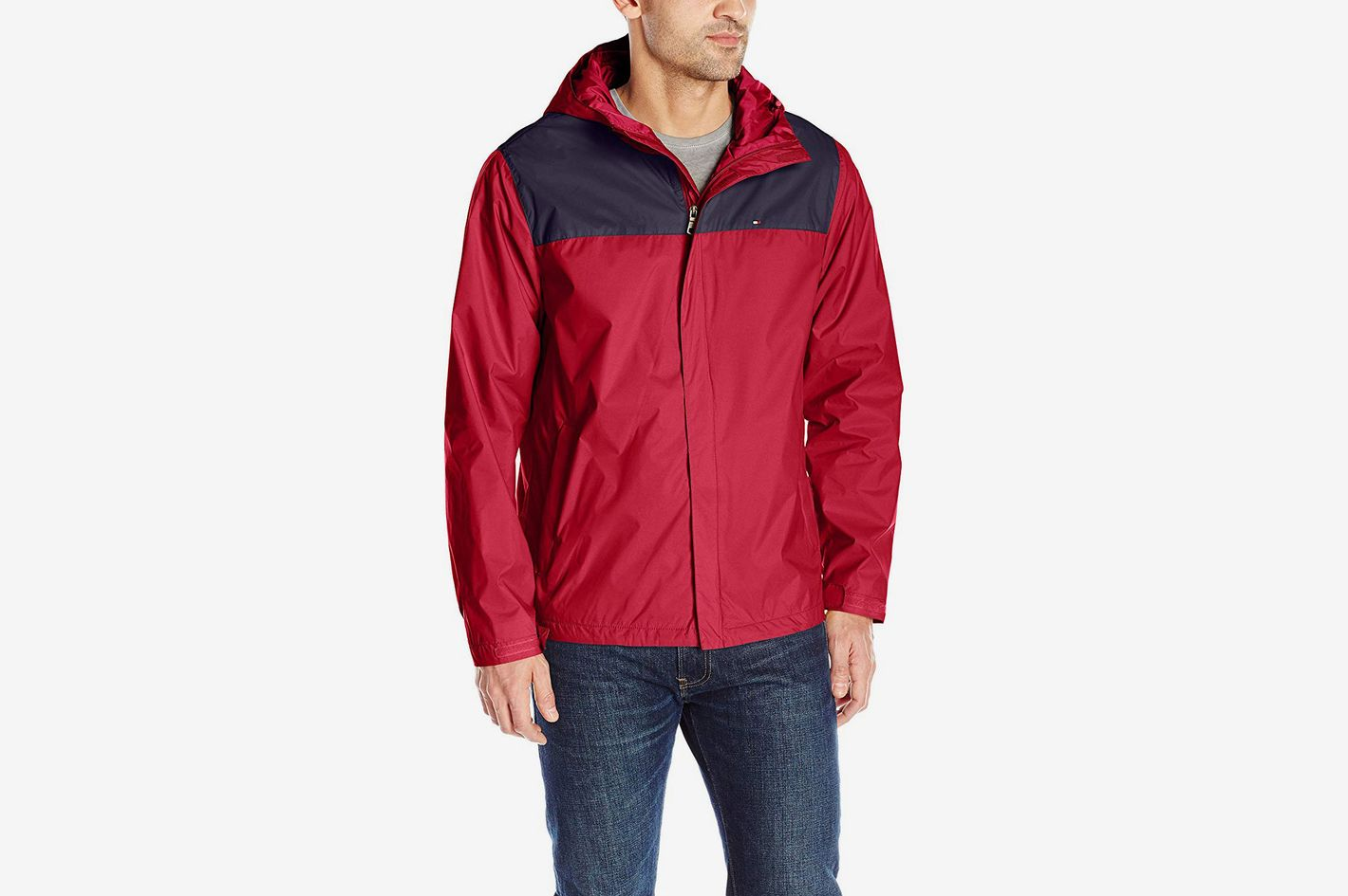 648a8beba03e Tommy Hilfiger Men's Waterproof Breathable Hooded Jacket