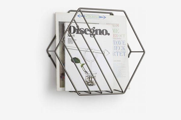 Umbra Zina Magazine Rack and Record Holder