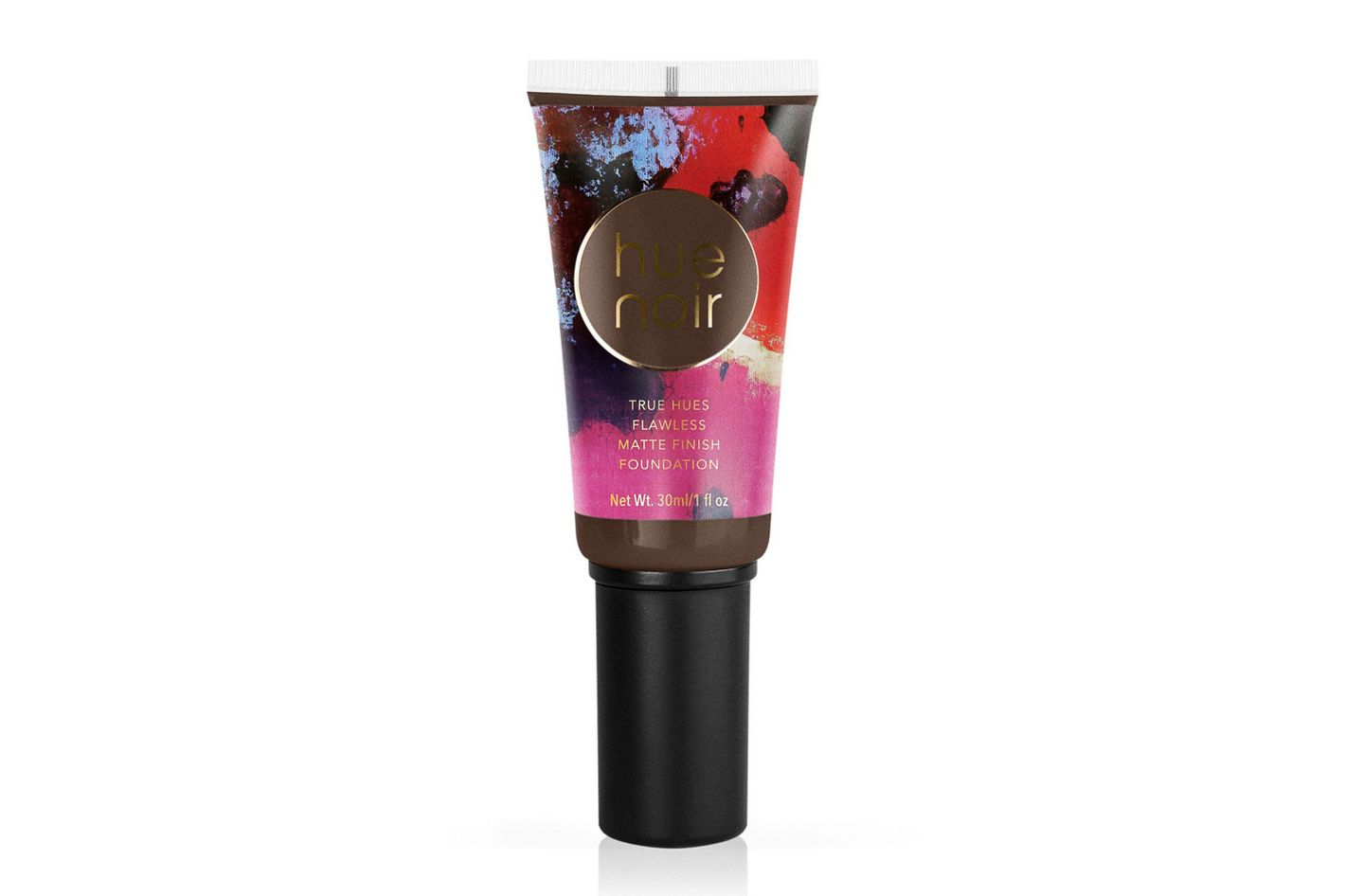 Hue Noir True Hues Flawless Matte Foundation in Deep-Carob