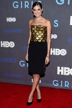 "Allison Williams attends the premiere of ""Girls"" Season 2 hosted by HBO at NYU Skirball Center on January 9, 2013 in New York City."