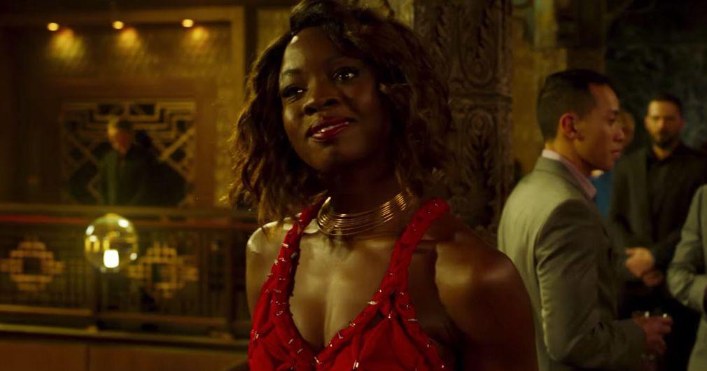 Watch Danai Gurira Throw Her Wig In Black Panther Scene