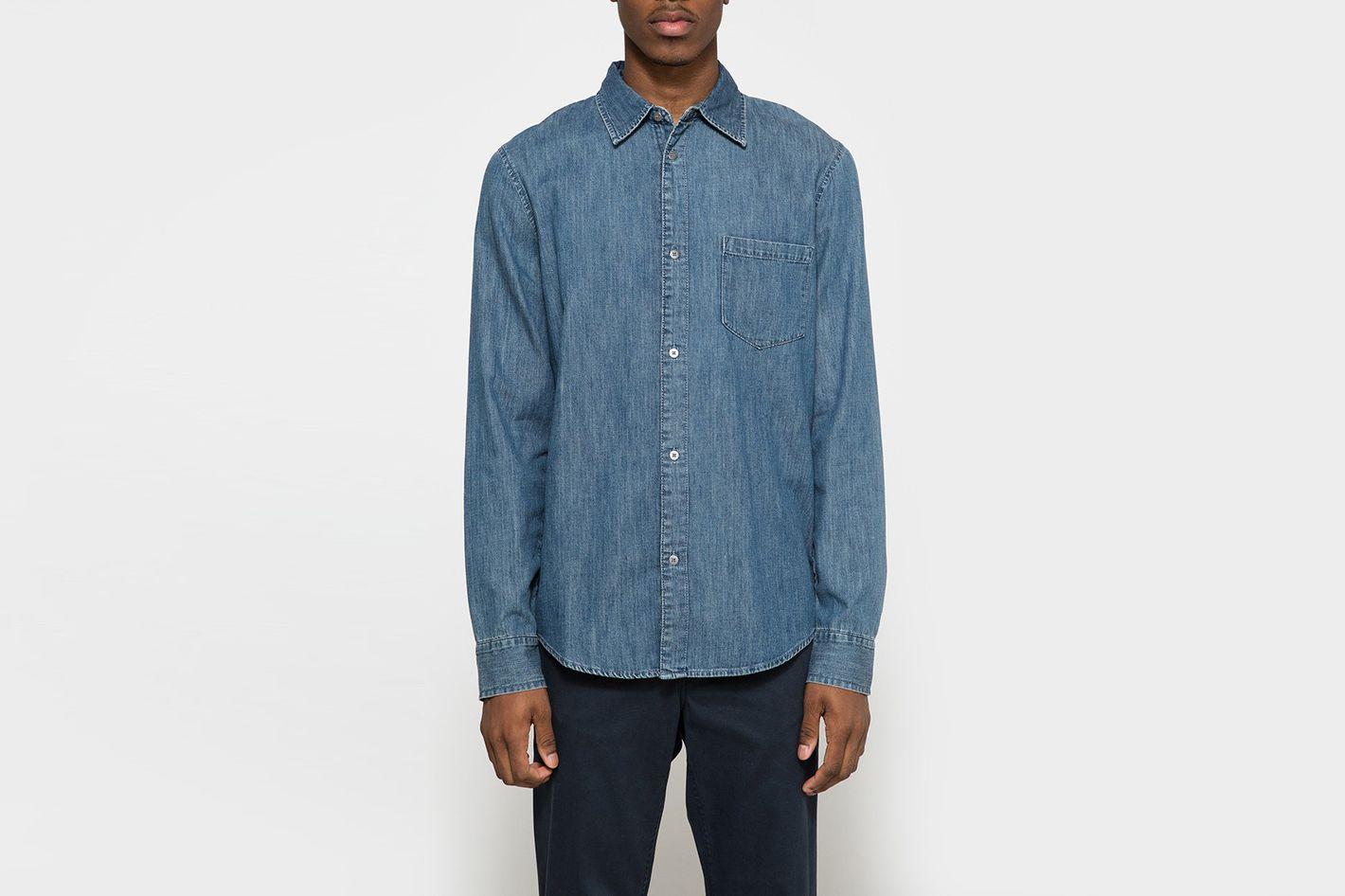 Cheap Monday Rude Denim Shirt