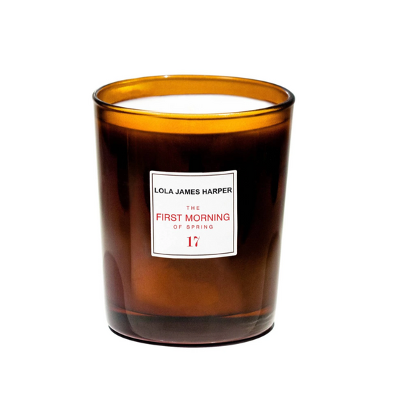 Lola James Harper Candle 17 The First Morning of Spring