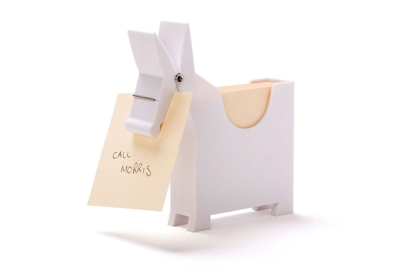 Morris the Donkey — Desktop Note Pad, Note Dispenser and Pen Holder