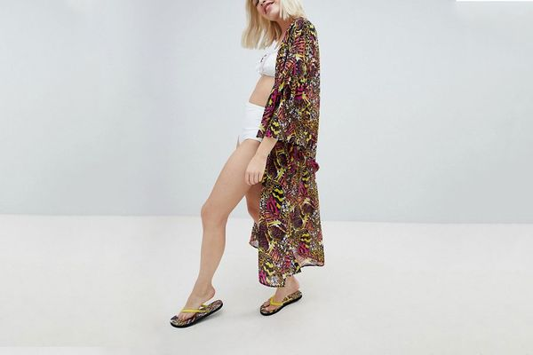 Monki Wide Sleeve Caftan
