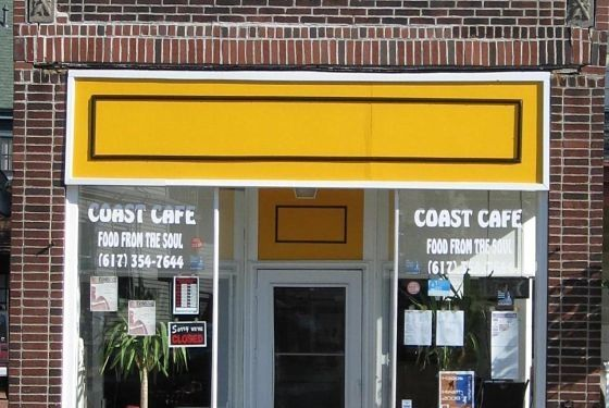 "<a href=""%E2%80%9Chttp://boston.menupages.com/restaurants/coast-cafe/%E2%80%9D"">Coast Cafe</a><br> <i>233 River St., Cambridge; 617-354-7644</i><br> This sunny soul-food hangout is owned by Anthony Brooks. It's tough not to love a guy who calls his fried chicken ""number one!"" and his macaroni and cheese ""smokin' hot!"" Another favorite are his oven-baked beef short rib and pork spare rib sandwiches. Get your sandwich with a side of candied yams or collard greens (""they fly out the door!""). Meanwhile, his pork and beef ribs are known for being ""more sweet than spicy""; he says they're a big hit with the Boston University and Harvard contingents."