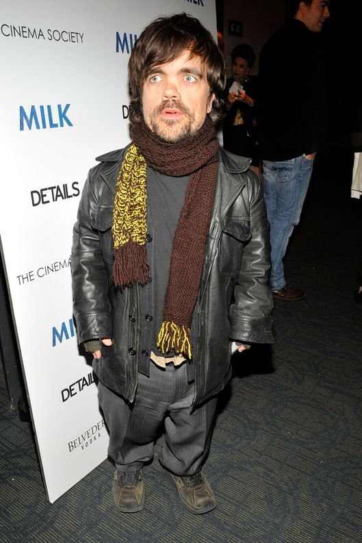 "Peter Dinklage==THE CINEMA SOCIETY & DETAILS host the after party for ""MILK""==Bowery Hotel, NYC==November 18, 2008==? Patrick McMullan==Photo - PATRICK MCMULLAN/PatrickMcMullan.com===="
