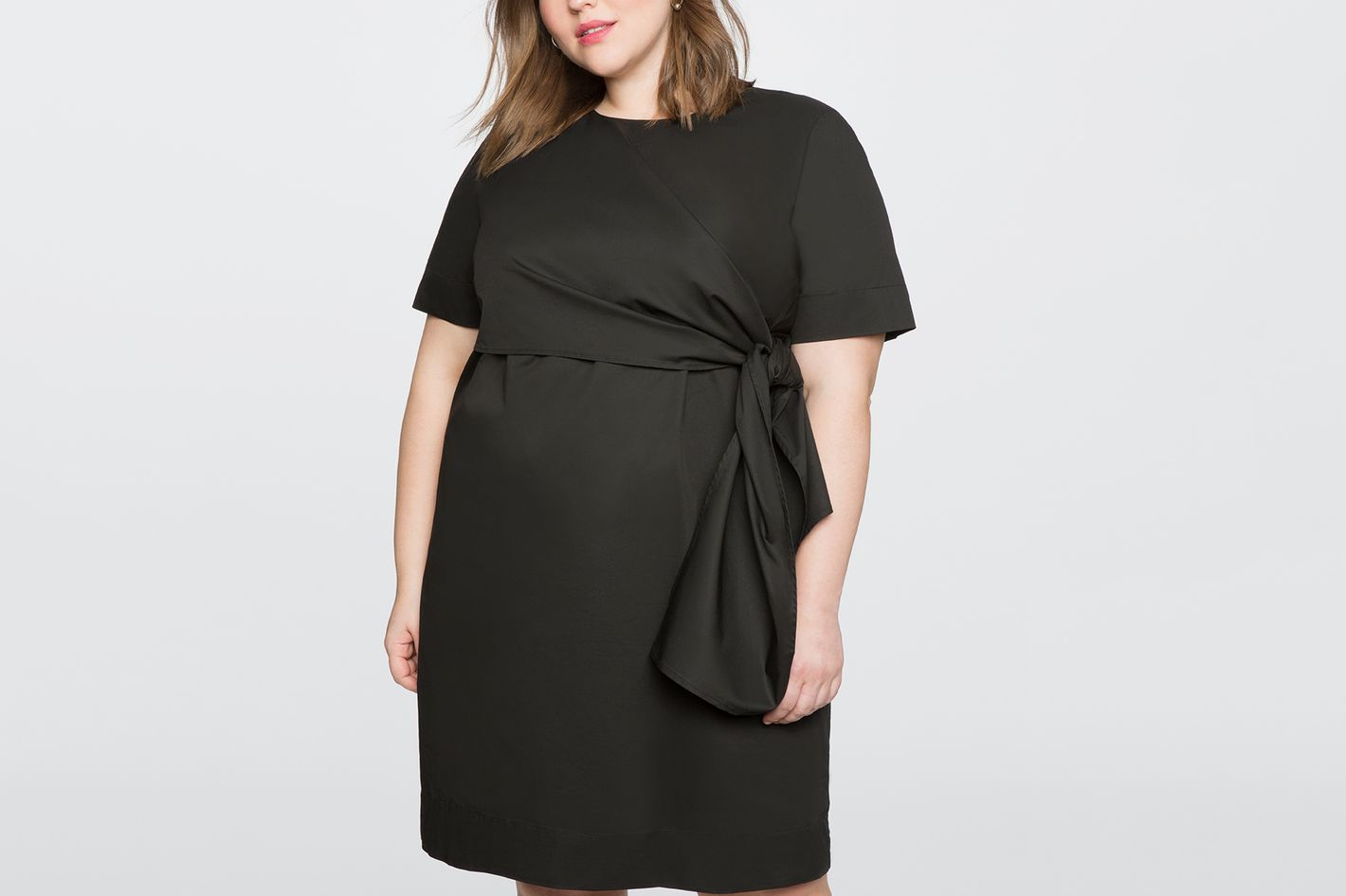 Knot Detail Shift Dress