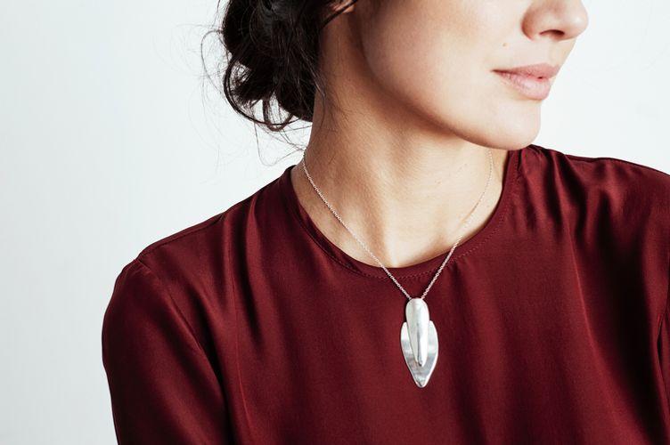 Ariana Boussard-Reifel Gobi Silver Necklace