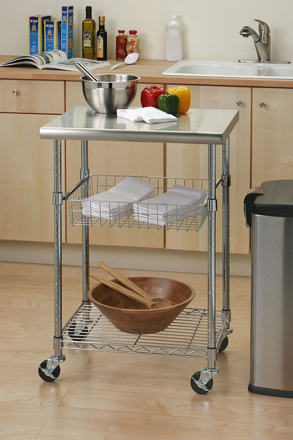 Best Stainless Steel Table With Wheels