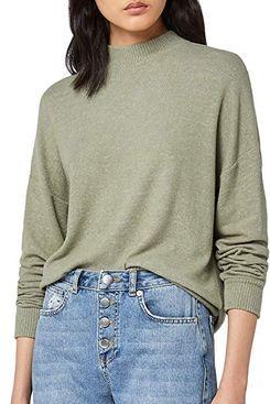find. Women's Oversized Long Sleeve Jersey Sweater