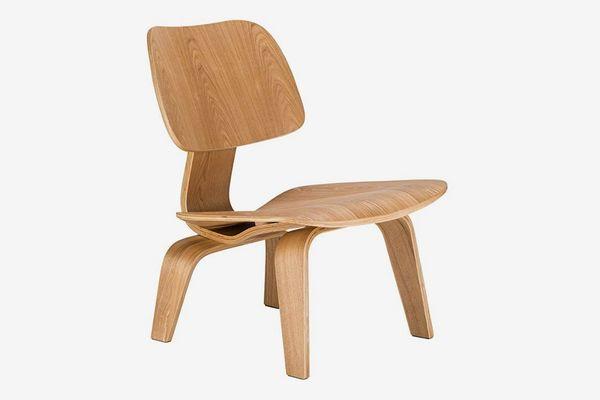 Poly and Bark Isabella Lounge Chair, Natural