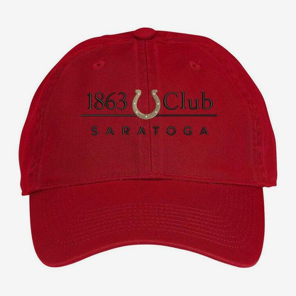 NYRA Saratoga 1863 Club Unstructured Twill Cap