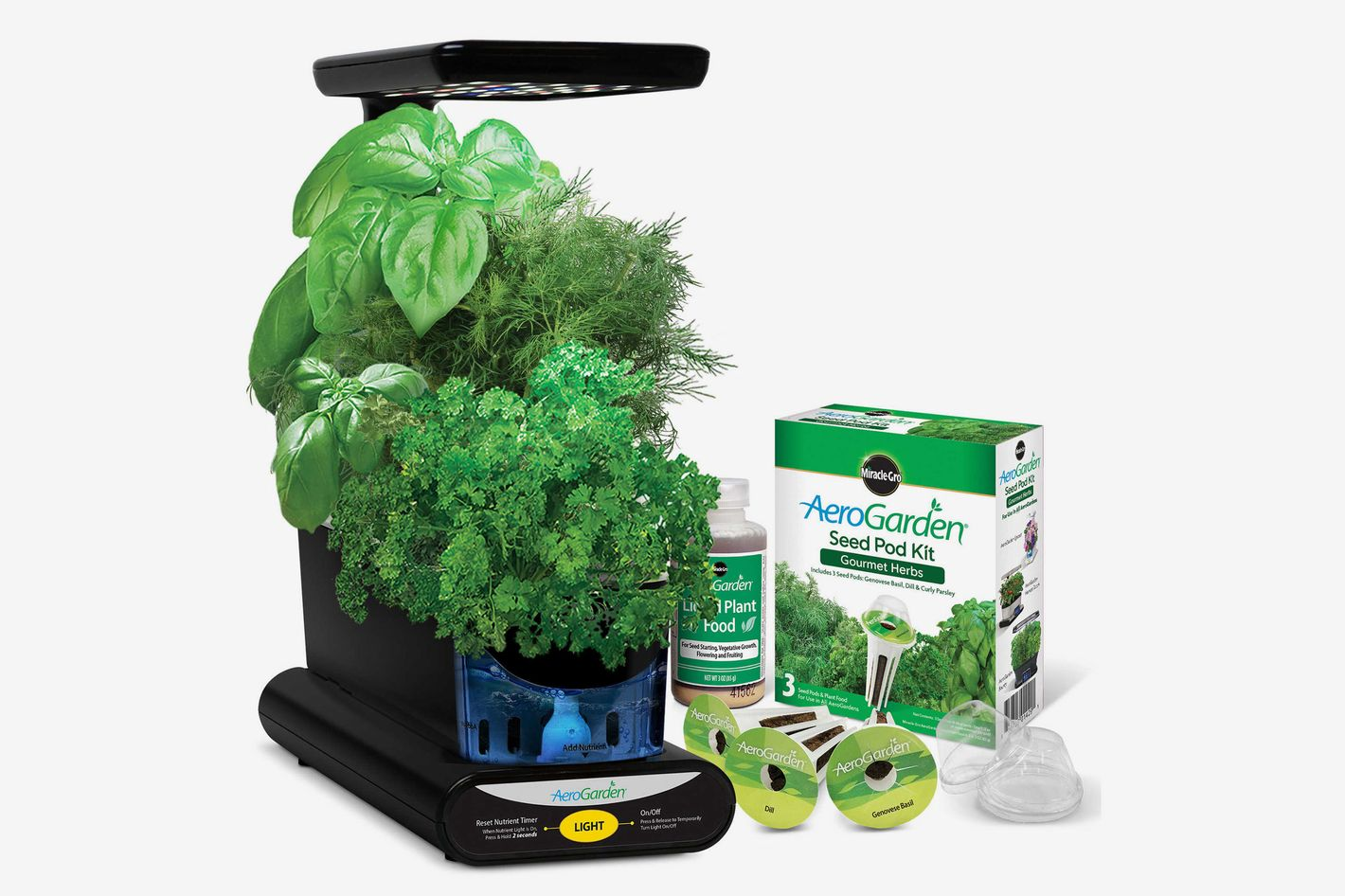AeroGarden Sprout LED With Gourmet Herb Seed Pod Kit