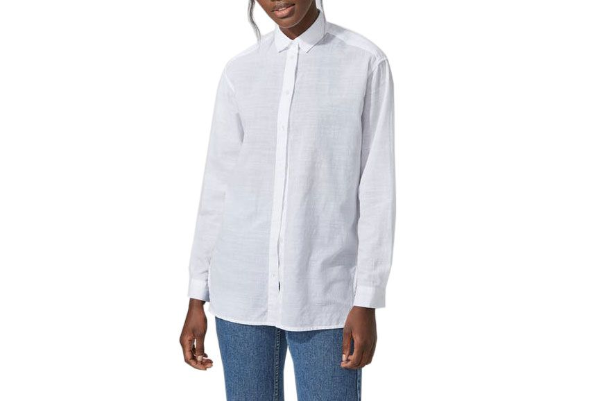 Frank and Oak Oversized Cotton-Voile Shirt