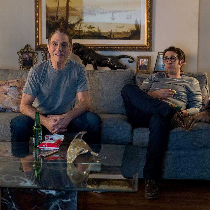 Tony Danza and Josh Groban in The Good Cop.
