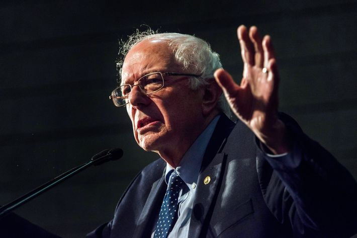 Bernie Sanders Attends Forum On Race And Economic Opportunity In Minneapolis