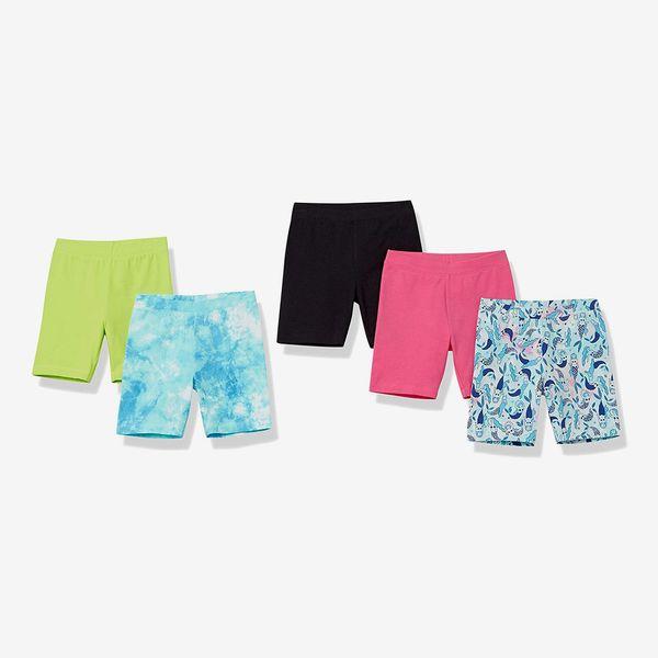 Amazon Spotted Zebra Girls' Bike Shorts