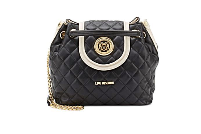 Love Moschino Borsa Quilted Bucket Bag