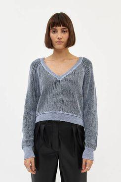 Stelen Alina Crop Knit in Grey