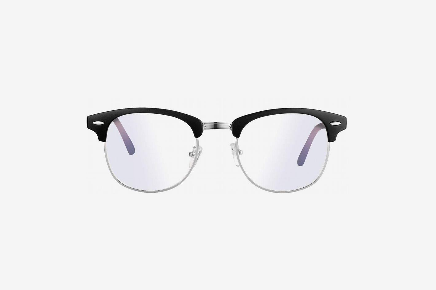 Feidu blue light blocking glasses clear lens