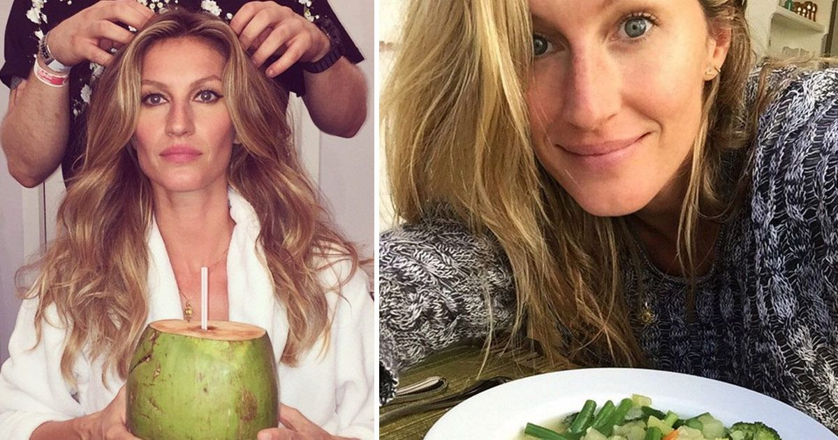 Of Course Perfect Humans Tom and Gisele Stick to Their ... Gisele Bundchen Diet
