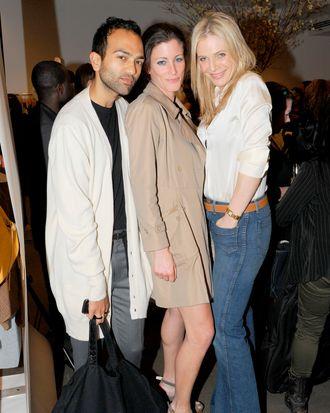 Siddhartha Shukla, Erika Albies, Annabel Tollman== SCOOP NYC Launches SASHA CHARNIN MORRISON'S