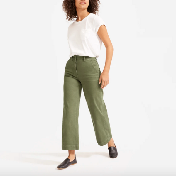 Everlane Wide-Leg Crop Pant