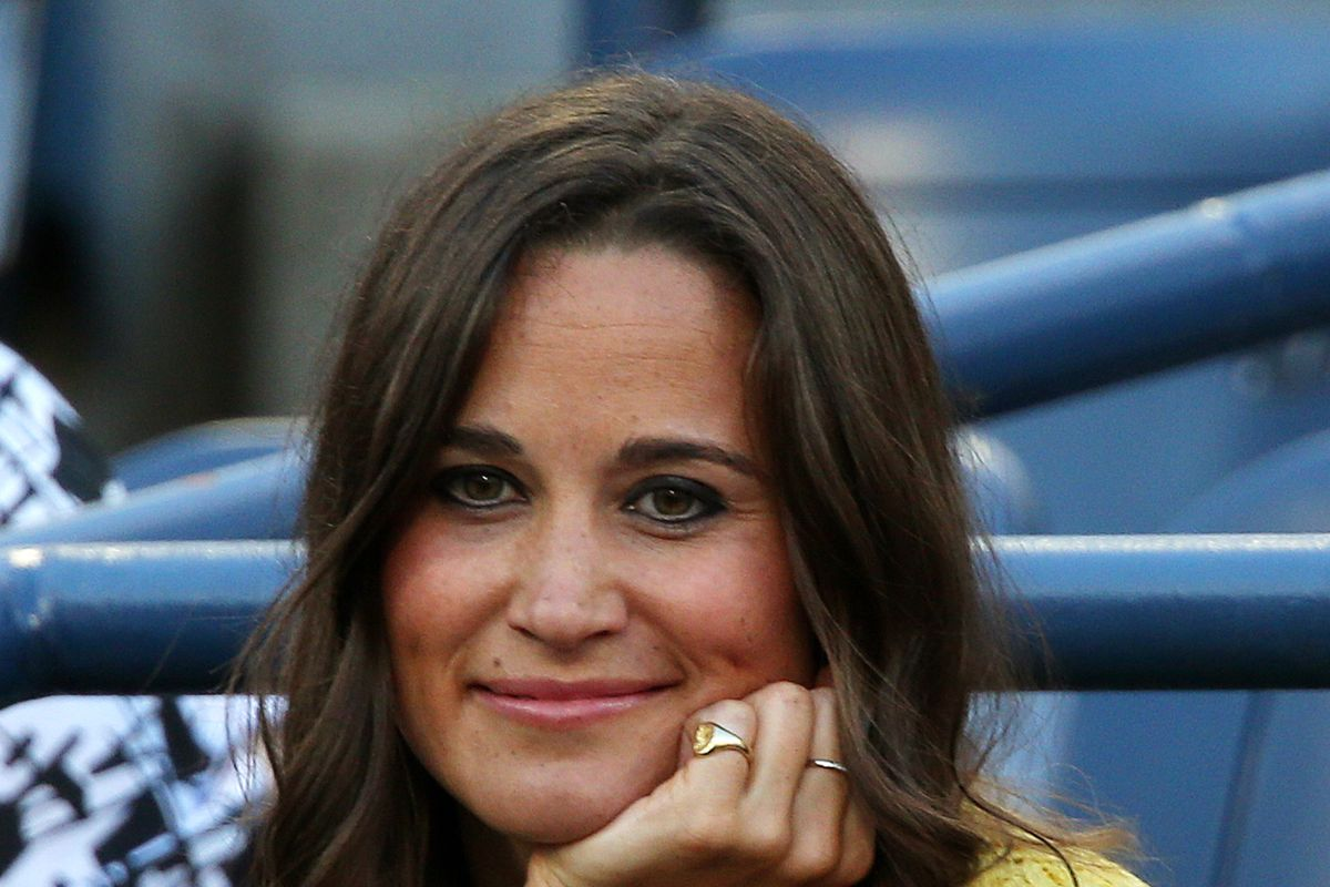 Pippa Middleton attends Day Ten of the 2012 US Open at USTA Billie Jean King National Tennis Center on September 5, 2012 in the Flushing neighborhood of the Queens borough of New York City.