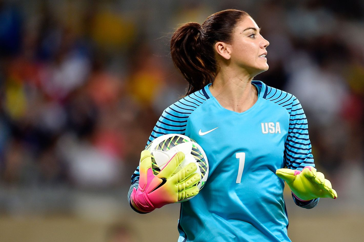 Hope Solo Faces a 6 Month Suspension for Calling Sweden's Soccer Team 'Cowards'