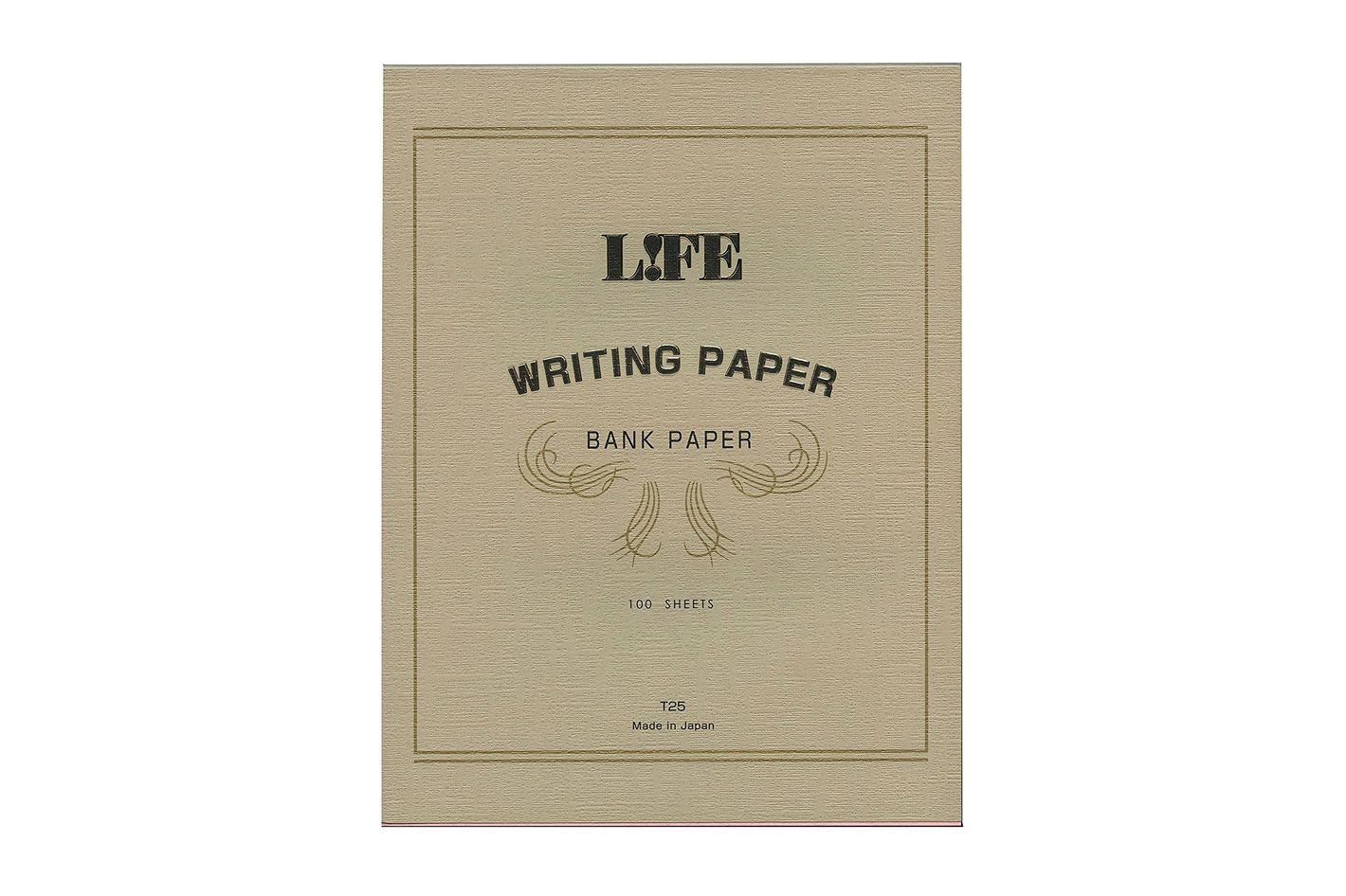 Life Bank Paper Pad