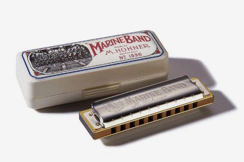 Hohner Marine Band Harmonica, Key of C