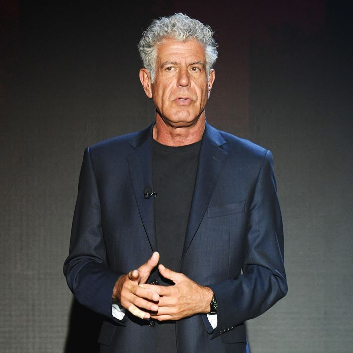 Anthony Bourdain Called Out Restaurant Critics