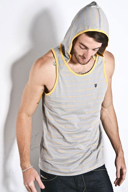 <b>Controversy:</b> Queen, don't you even.  <b>Resolution:</b> One of these days gay men will get over their tank top fixation, and Universal Gear will go back to selling bad denim and overpriced undies.
