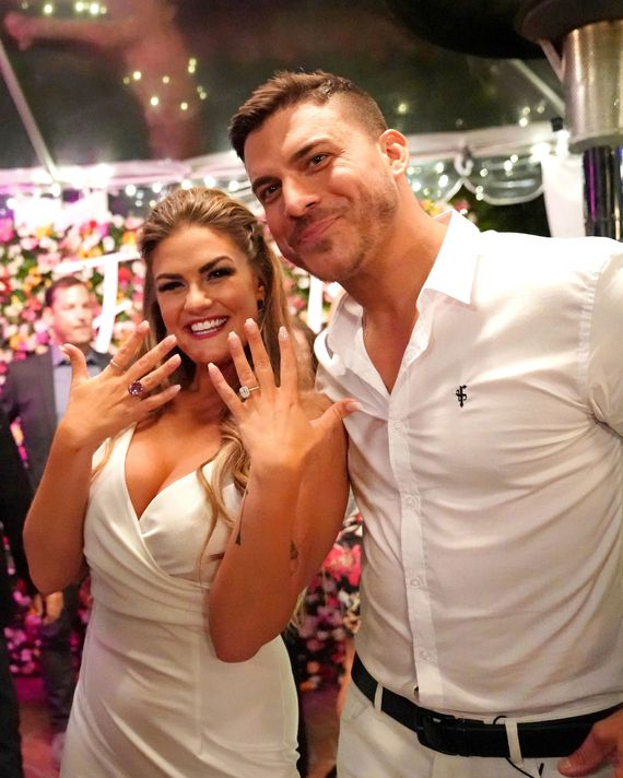 Jax Taylor and his fiancé Brittany Cartwright.