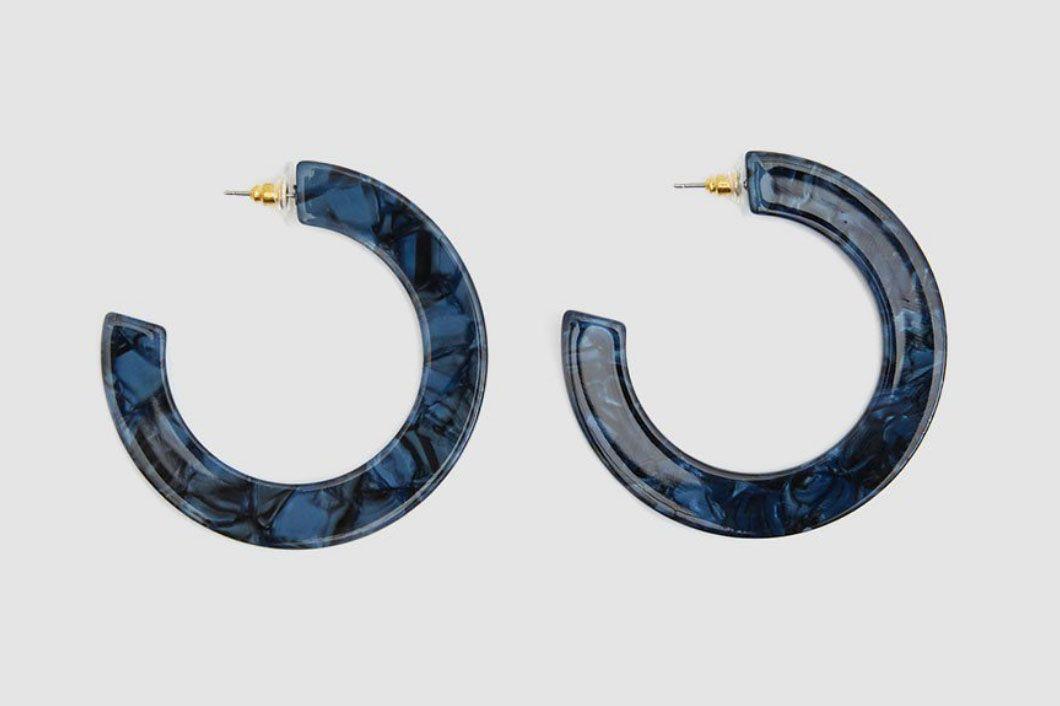 Farrow Orianne Marble Acetate Earrings