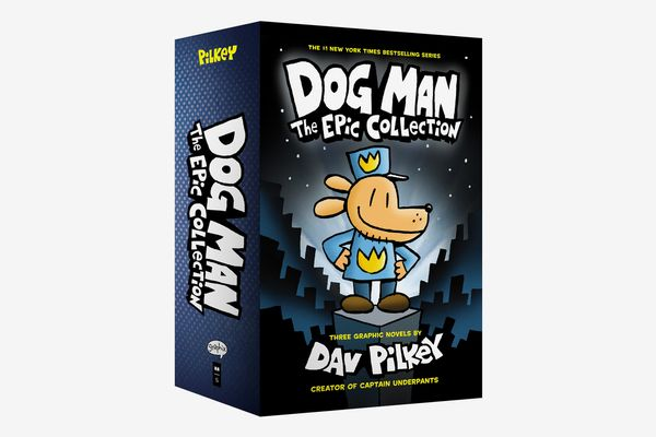 Dog Man: The Epic Collection #1-3 Boxed Set by Dav Pilkey