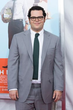 "14 Jul 2014, New York City, New York State, USA --- New York Premiere of ""Wish You Were Here""-NY Sony Lincoln Square, NY Pictured: Josh Gad --- Image by © Mayer RCF/Splash News/Corbis"