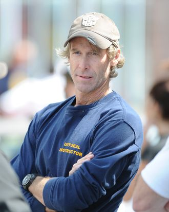 Michael Bay sighting on the set of