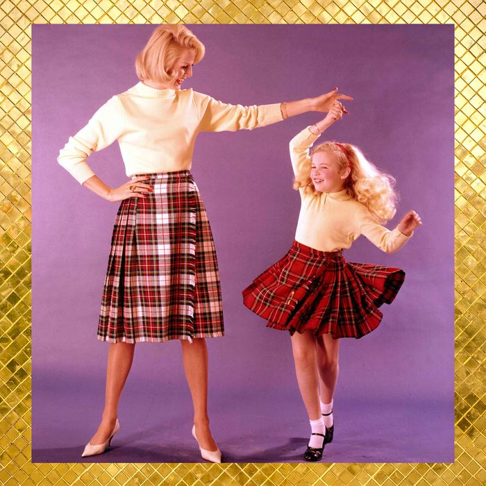 5cfe747461 You Can Wear a Plaid Skirt to Literally Any Holiday Party