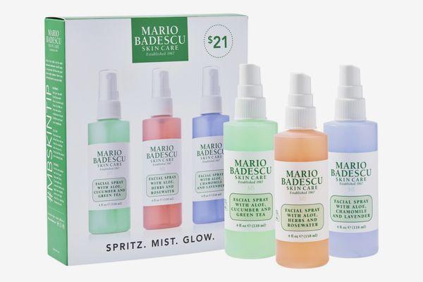 Mario Badescu Spritz. Mist. Glow. Set
