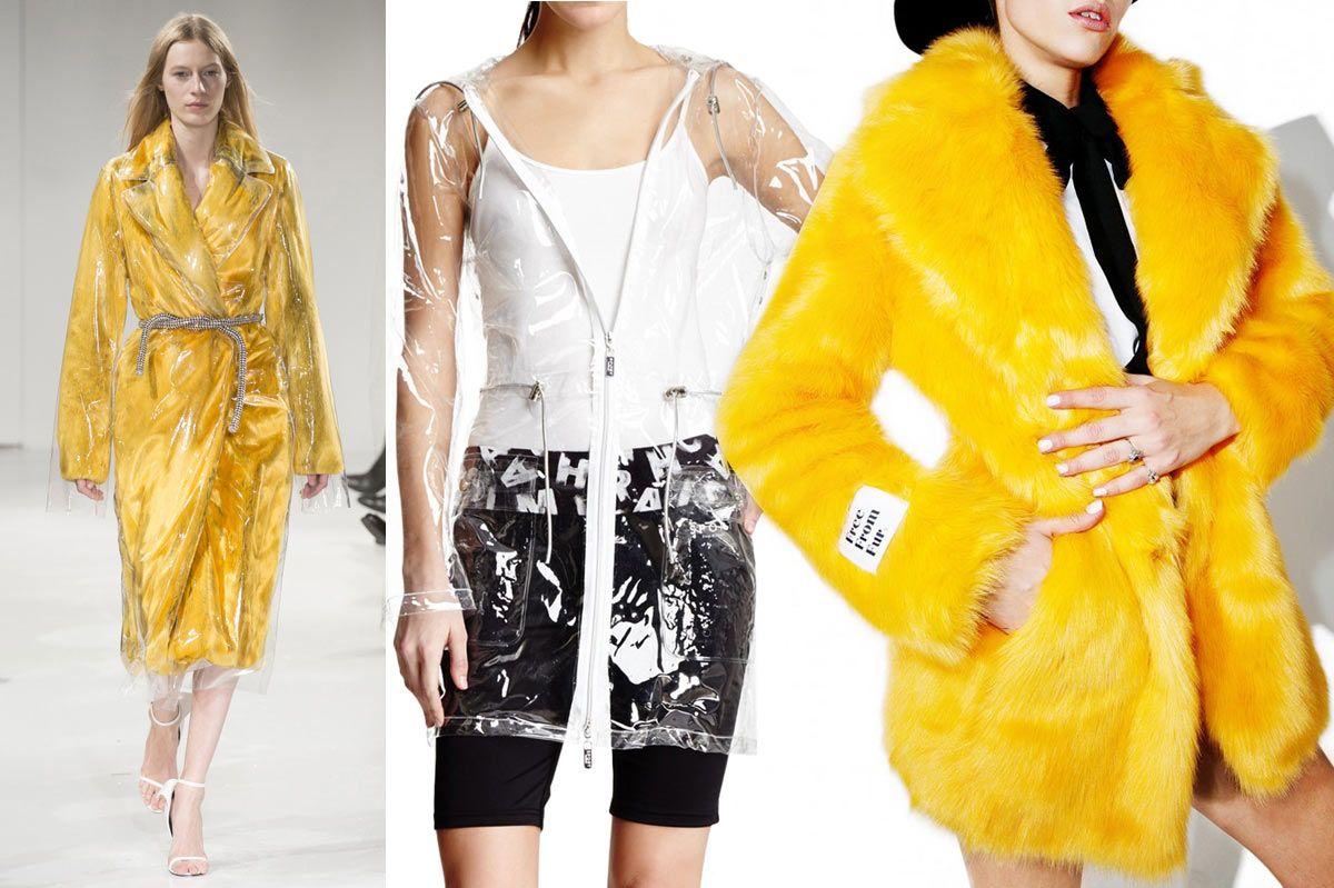 Isaac Mizrahi Transparent Anorak Jacket