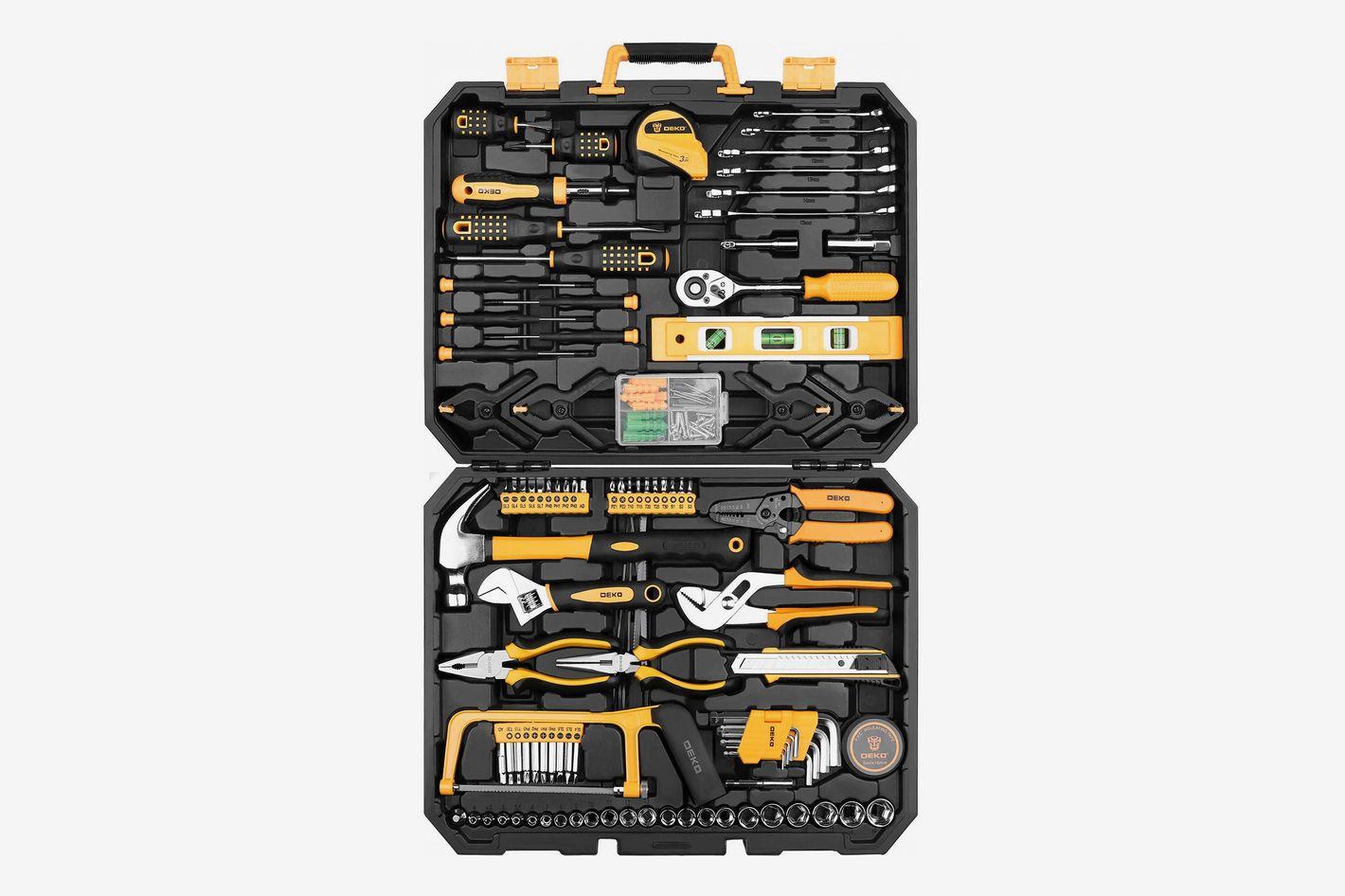 DEKOPRO Tool Kit, 168-Piece