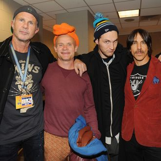 red hot chili peppers headlining bernie sanders fund raiser concert because with the bern they. Black Bedroom Furniture Sets. Home Design Ideas