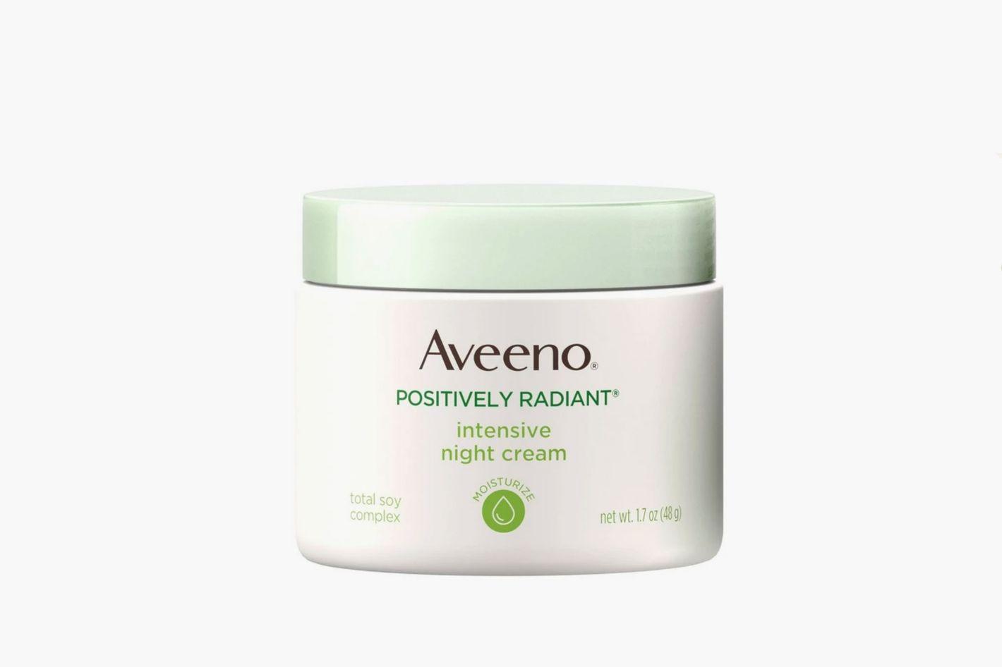 Aveeno Positively Radiant Intensive Night Cream With Vitamin B3